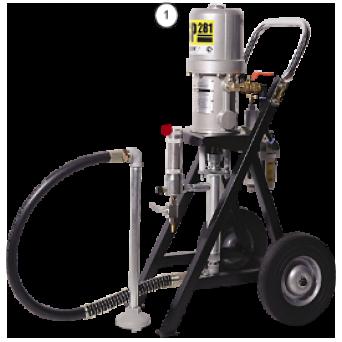 Окрасочный аппарат с пневмоприводом CONTRACOR ASP-281