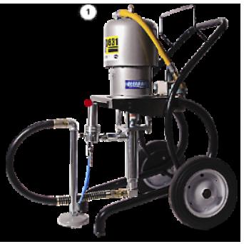 Окрасочный аппарат с пневмоприводом CONTRACOR ASP-631