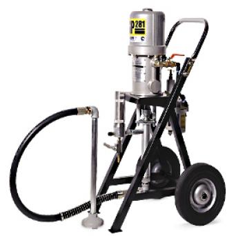 Окрасочный аппарат с пневмоприводом CONTRACOR ASP-281 комплект