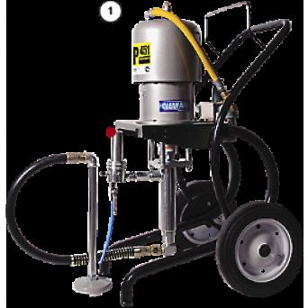 Окрасочный аппарат с пневмоприводом CONTRACOR ASP-451 комплект